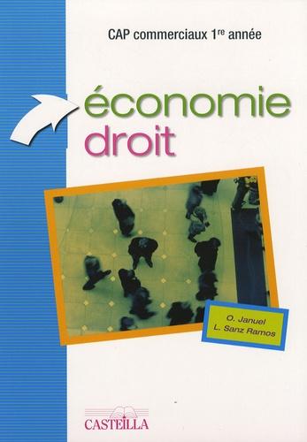 Olivier Januel et Lucas Sanz Ramos - Economie-Droit CAP commerciaux 1e année.