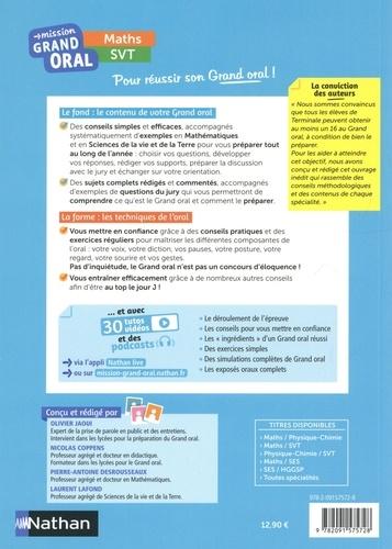 Maths SVT Tle  Edition 2021