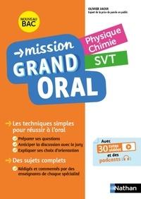 Olivier Jaoui et Nicolas Coppens - Mission grand oral - Physique Chimie - SVT.