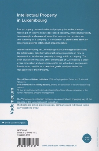 Intellectual Property in Luxembourg 2nd edition
