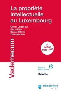 Olivier Laidebeur et Pierre Kihn - La propriété intellectuelle au Luxembourg.