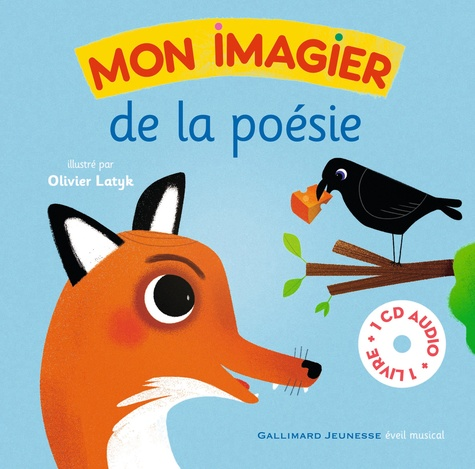 Olivier Latyk - Mon imagier de la poésie. 1 CD audio MP3