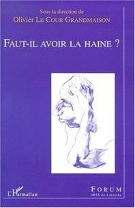 Olivier Le Cour Grandmaison et  Collectif - .