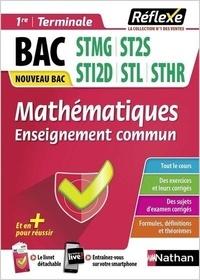 Olivier Le Dantec - Mathématiques enseignement commun 1re et Tle Bac technologique.