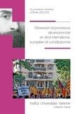 Olivier Lecucq - Sécession et processus sécessionniste en droit international, européen et constitutionnel.