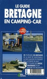 Olivier Lemaire - Le guide Bretagne en camping-car.