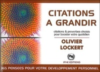 Olivier Lockert - Citations à grandir.