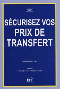 Olivier Marichal - Sécurisez vos prix de transfert.