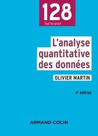 Olivier Martin - L'analyse des données quantitatives.