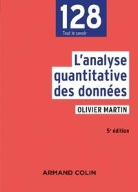 Olivier Martin - L'analyse quantitative des données.