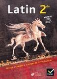 Olivier Massé et Christine Tardiveau - Latin 2nde - Livre de l'élève.