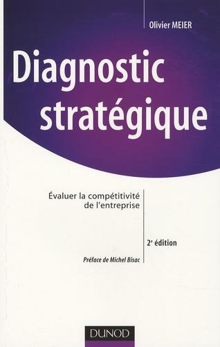 Olivier Meier - Diagnostic stratégique - Evaluer la compétitivité de l'entreprise.