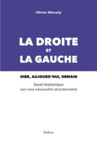 Olivier Meuwly - La droite et la gauche : Hier, aujourd'hui, demain - Un essai historique sur une nécessité structurante.