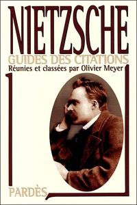 "Olivier Meyer - Nietzsche - Manuel de savoir-vivre surhumain de Friedrich Nietzsche-""Supérieur inconnu""."