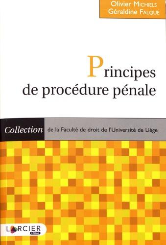 Principes de procédure pénale