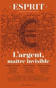 Olivier Mongin - Esprit N° 456, juillet-août : L'argent.