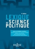 Olivier Nay - Lexique de science politique.