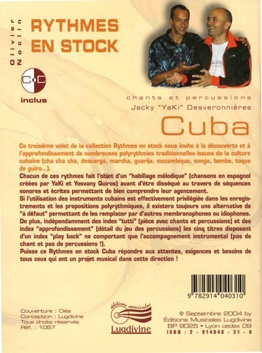 Cuba  avec 1 CD audio