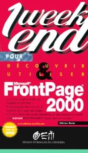 Olivier Pavie - FrontPage 2000.