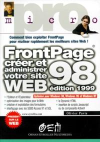 FRONTPAGE 98. Créer et administrer votre site Web, édition 1999.pdf