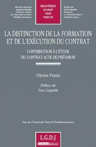 La distinction de la formation et de lexécution du contrat - Contribution à létude du contrat acte de prévision.pdf