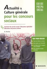 Olivier Perche - Actualité & culture générale pour les concours sociaux.