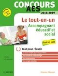 Olivier Perche et Anne-Eva Lebourdais - Concours AES Accompagnant éducatif et social - Ecrit et oral - Tout pour réussir.