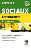 Olivier Perche et Anne-Eva Lebourdais - Entraînement concours sociaux - Epreuves orales.