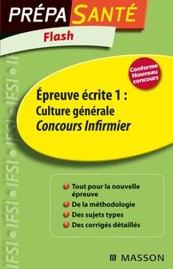 Epreuve écrite 1 : Culture générale - Concours infirmier.pdf