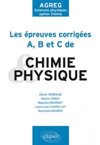Birrascarampola.it Les épreuves corrigées A, B et C de Physique et Chimie de 2009 à 2011 - AGREG Sciences physiques option Chimie Image