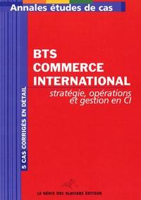 Olivier Perrier - BTS Commerce international - Stratégie, opérations et gestion en CI.