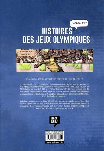 Histoires incroyables des jeux olympiques