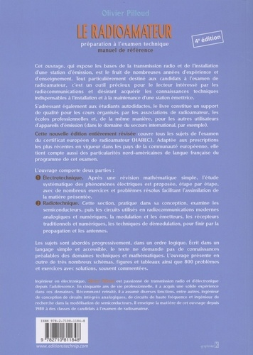 Le radioamateur. Préparation à l'examen technique, manuel de référence 4e édition