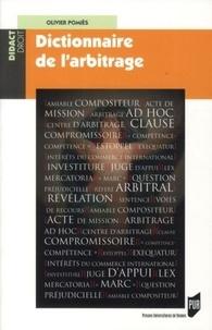 Olivier Pomiès - Dictionnaire de l'arbitrage.
