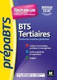 Olivier Prévost et Ludovic Babin-Touba - PREPABTS - Toutes les matières générales - BTS Tertiaires - Révision et entrainement - FXL.