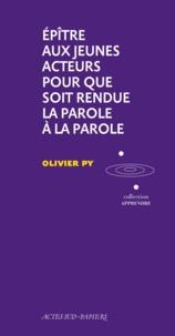 Olivier Py - .