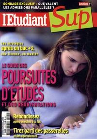 Olivier Rollot - Le guide des poursuites d'études et des réorientations - L'Etudiant Sup.