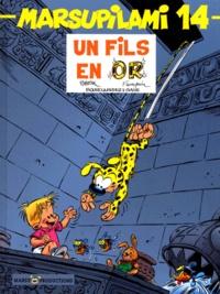 Olivier Saive et Jean-Michel Bourcquardez - Marsupilami Tome 14 : Un fils en or.
