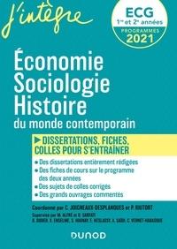Olivier Sarfati et Philippe Riutort - Economie, Sociologie, Histoire du monde contemporain en fiches et dissertations ECG 1 et 2 - 70 fiches, dissertations et plans détaillés.
