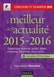 Olivier Sarfati - Le meilleur de l'actualité 2015-2016 - Concours et examens 2016.
