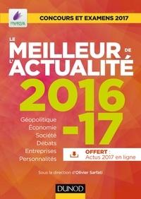 Olivier Sarfati - Le meilleur de l'actualité 2016-17 - Concours et examens 2017.