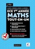 Olivier Sarfati et Frédéric Brossard - Mathématiques ECE 1re année - Tout-en-un.