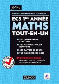 Olivier Sarfati et Frédéric Brossard - Maths ECS 1re année.
