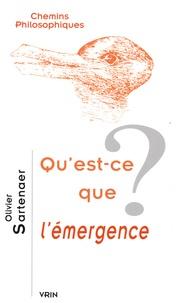 Olivier Sartenaer - Qu'est-ce que l'émergence ?.