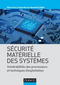 Olivier Savry et Thomas Hiscock - Sécurité matérielle des systèmes - Vulnérabilité des processeurs et techniques d'exploitation.