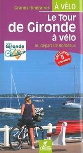 Olivier Scagnetti - Le tour de Gironde à vélo - Au départ de Bordeaux.