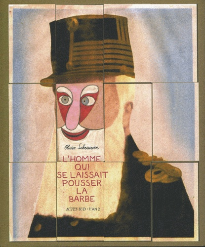 Olivier Schrauwen - L'homme qui se laissait pousser la barbe.