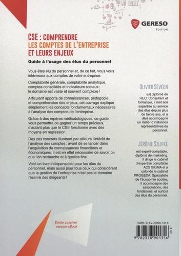 CSE : comprendre les comptes de l'entreprise et leurs enjeux. Guide à l'usage des élus du personnel