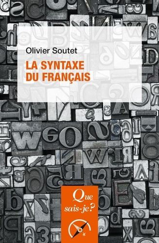 La syntaxe du français 7e édition