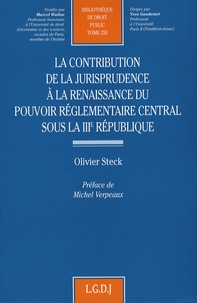 La contribution de la jurisprudence à la renaissance du pouvoir réglementaire central sous la IIIe République.pdf